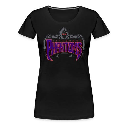 Pittsburgh Phantoms (Roller Hockey) - Women's Premium T-Shirt