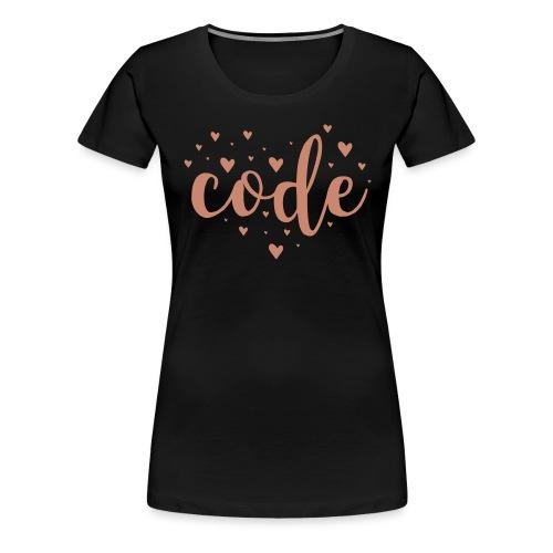 code-herz - Women's Premium T-Shirt