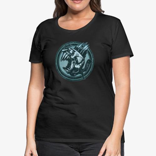 Wild Fish Grunge Animal - Women's Premium T-Shirt