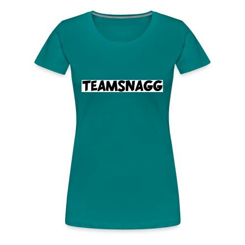 TeamSnagg Logo - Women's Premium T-Shirt