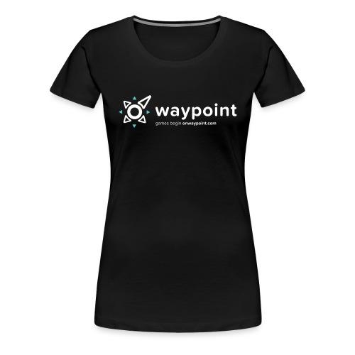 Waypoint Logo (Light Version) - Women's Premium T-Shirt