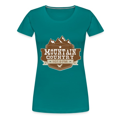 Mountain Country 107.9 - Women's Premium T-Shirt