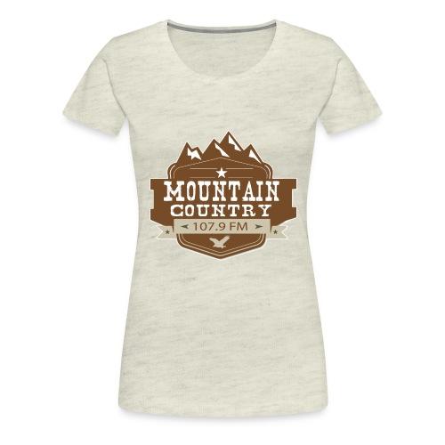 Mountain Country 107.9 - Women's Premium T-Shirt