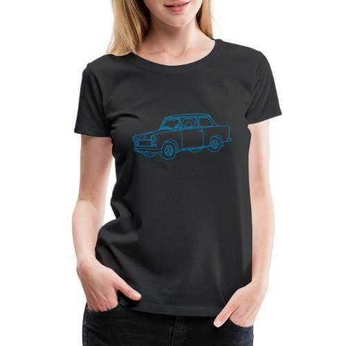 Car Trabant - Women's Premium T-Shirt