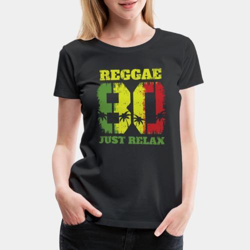 reggae music relax - Women's Premium T-Shirt