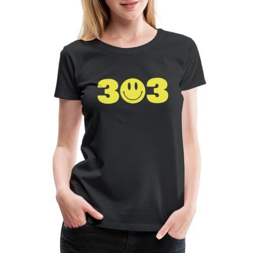 3 Smiley 3 - Women's Premium T-Shirt