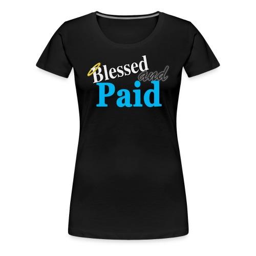 Baby Blue Angel - Women's Premium T-Shirt