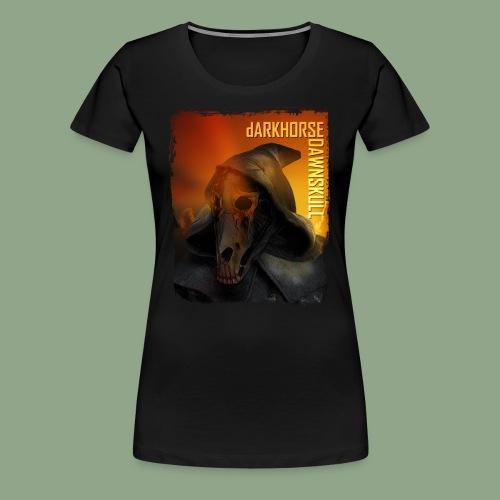 dARKHORSE DAWNSKULL Shirt - Women's Premium T-Shirt
