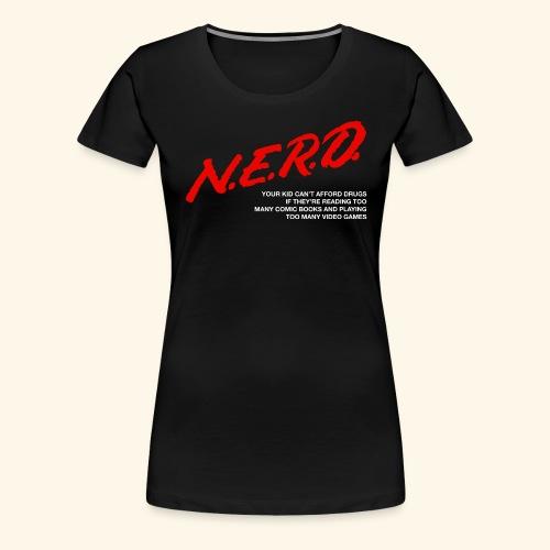 NERD Logo - Women's Premium T-Shirt