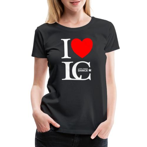 I Heart LCDance - Women's Premium T-Shirt