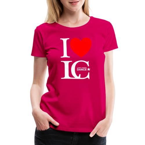 I Heart LCDance - Women's Premium T-Shirt