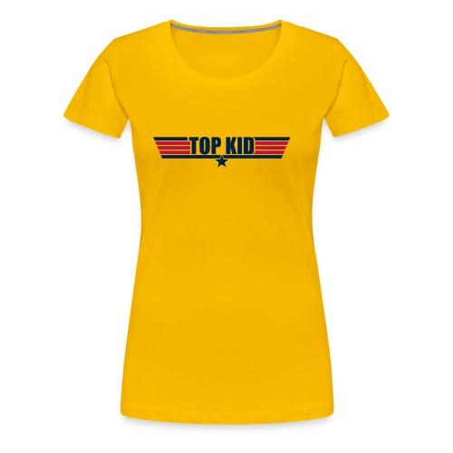 Top Kid - Women's Premium T-Shirt