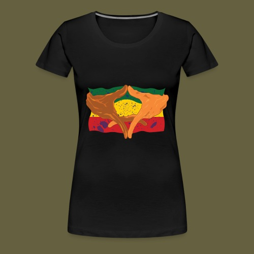 Hands of His Imperial Majesty - Women's Premium T-Shirt