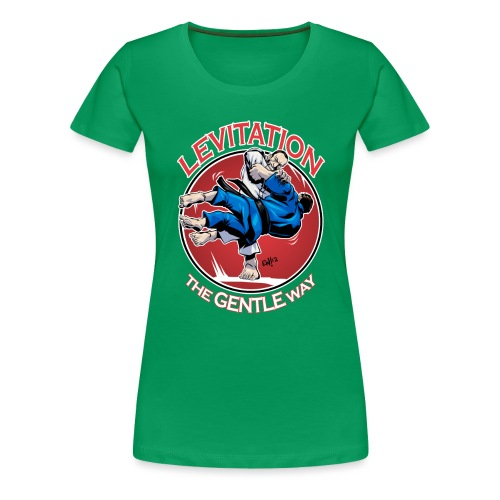 Judo Levitation for dark shirt - Women's Premium T-Shirt