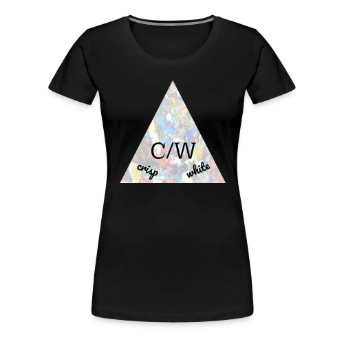 crisp white - Women's Premium T-Shirt