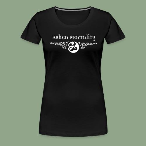 Ashen Mortality - Logo T-Shirt - Women's Premium T-Shirt