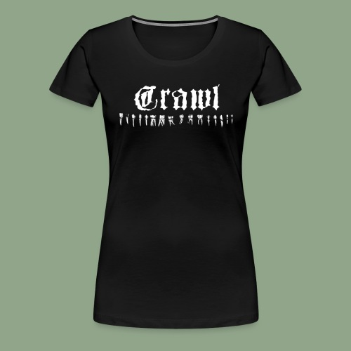 Crawl Teeth T Shirt - Women's Premium T-Shirt