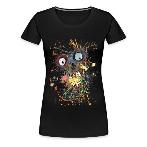shocked zombie - Women's Premium T-Shirt