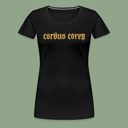 Corvus Coren - Logo #2 T-Shirt - Women's Premium T-Shirt