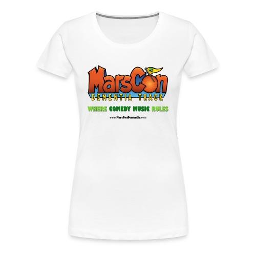 Marscon Dementia Logo - Women's Premium T-Shirt