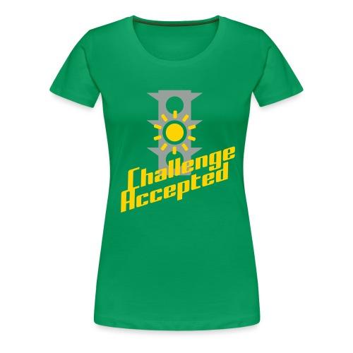 Challenge Accepted - Women's Premium T-Shirt