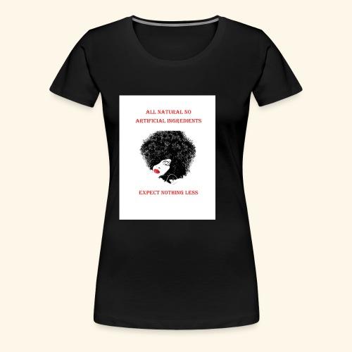Afro - Women's Premium T-Shirt