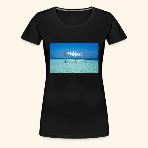 Maldives - Women's Premium T-Shirt