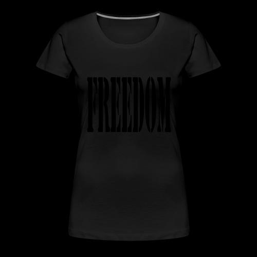 Freedom Logo - Women's Premium T-Shirt
