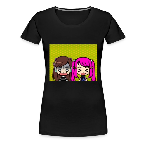 Phone case merch of jazzy and raven - Women's Premium T-Shirt