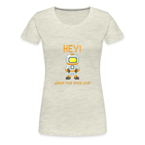 spacelove2 png - Women's Premium T-Shirt