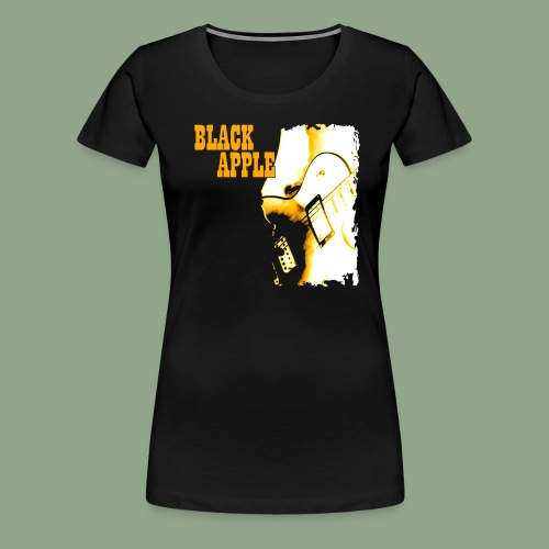 Black Apple Shirt - Women's Premium T-Shirt