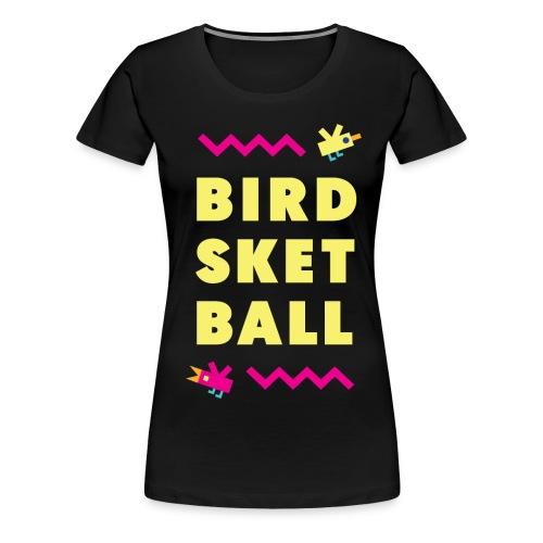 Birdsketball tall - Women's Premium T-Shirt