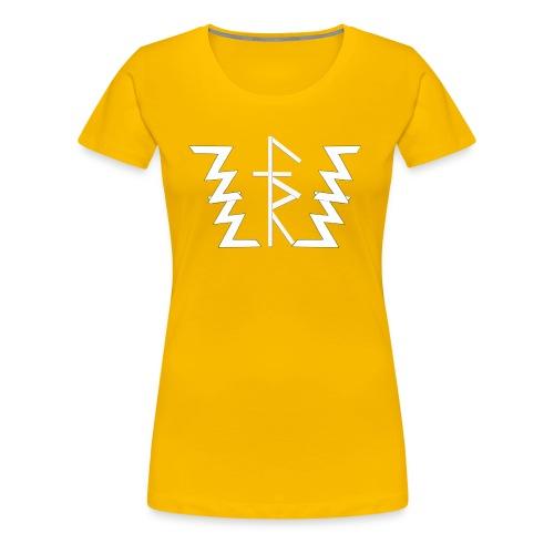 Faith Runnerz Tee Logo - Women's Premium T-Shirt