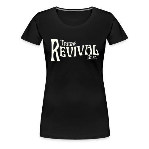TRB Logo letters only png - Women's Premium T-Shirt