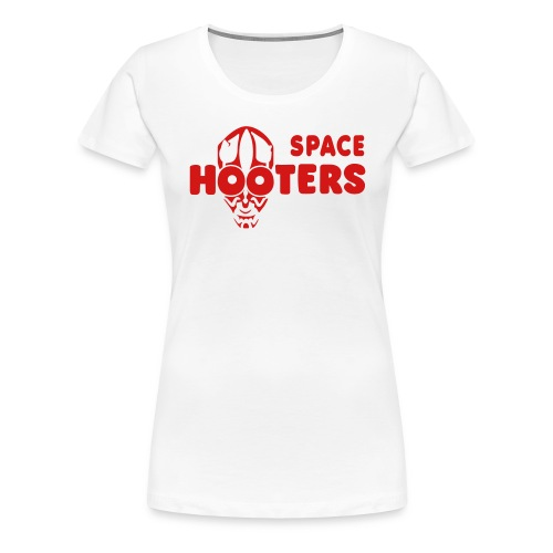 space hooters - Women's Premium T-Shirt