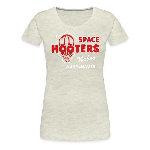 space hooters - Women's Premium T-Shirt