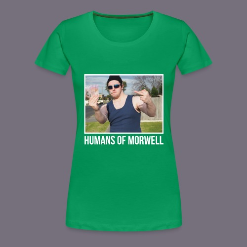 Aussie Battler - Women's Premium T-Shirt