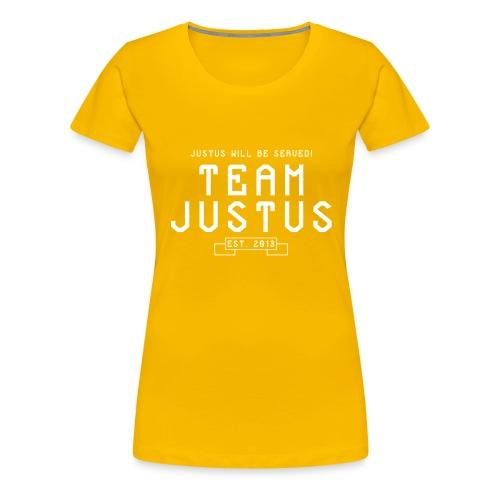 justus retro 2 - Women's Premium T-Shirt