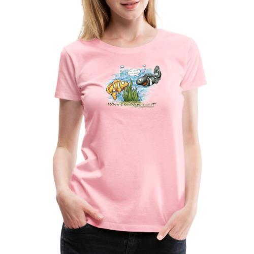 when clownfishes meet - Women's Premium T-Shirt