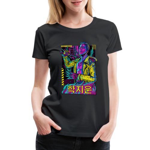 The Trickster Sticker - Women's Premium T-Shirt