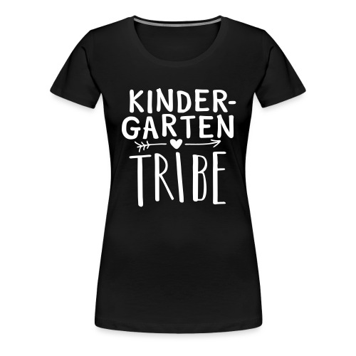 Kindergarten Tribe Teacher Team T-Shirts - Women's Premium T-Shirt