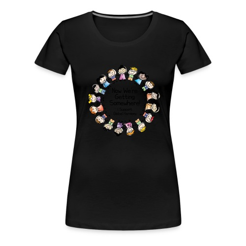 TShirtHarmonyFull by You'll Wear Me Out - Women's Premium T-Shirt