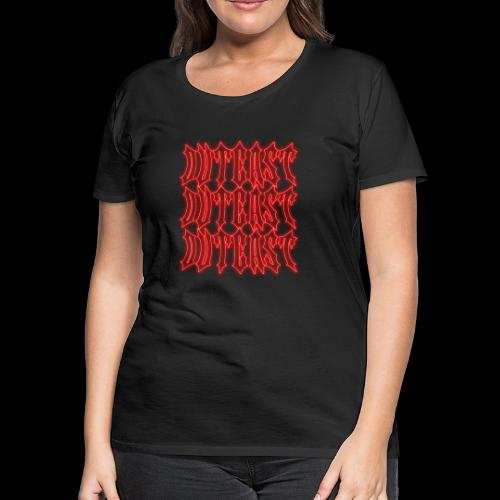 outcast x3 red - Women's Premium T-Shirt