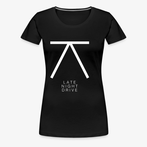 LND Logo White - Women's Premium T-Shirt