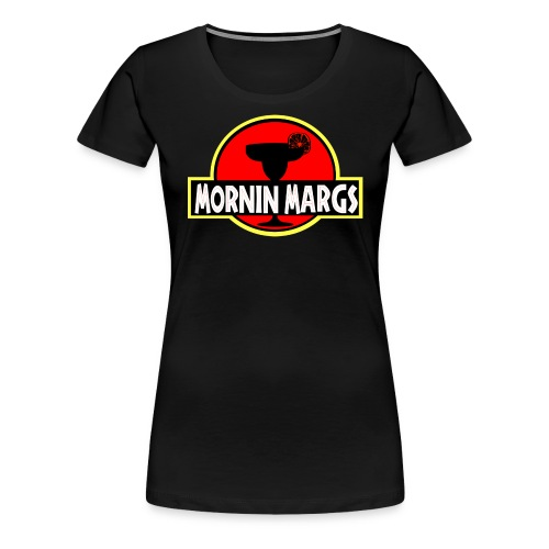 Mornin Margs JP - Women's Premium T-Shirt