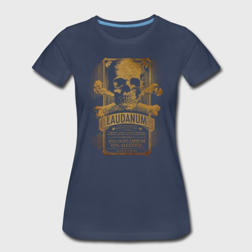 Laudanum Goth Steampunk Medical Doctor - Women's Premium T-Shirt