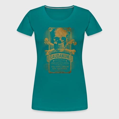 Laudanum Goth Steampunk Medical Doctor - Women's Premium T-Shirt