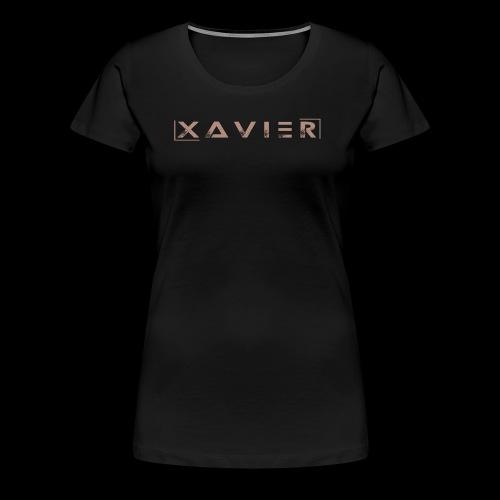 XAVIER GOLD EDITION - Women's Premium T-Shirt