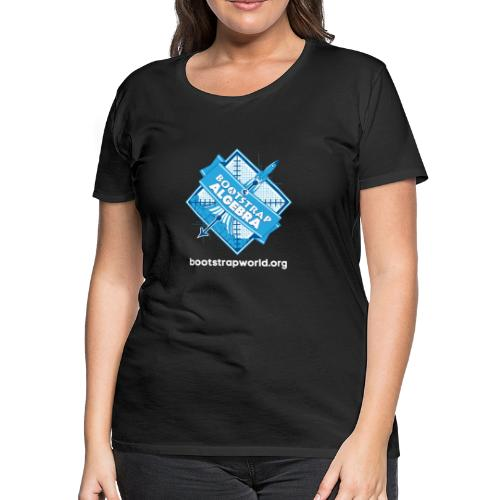 Bootstrap:Algebra T-shirt - Women's Premium T-Shirt