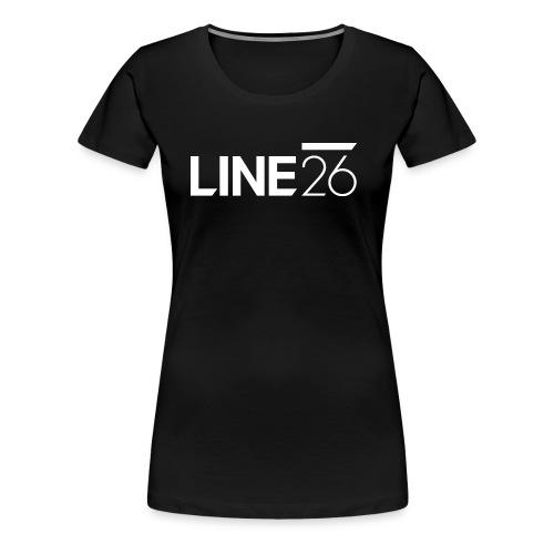 Line26 Logo (Light Version) - Women's Premium T-Shirt